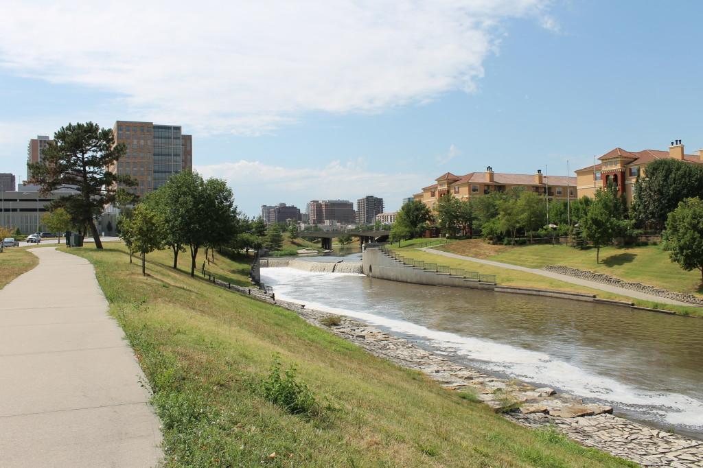 Midtown swales and parkway, Kansas City, Missouri