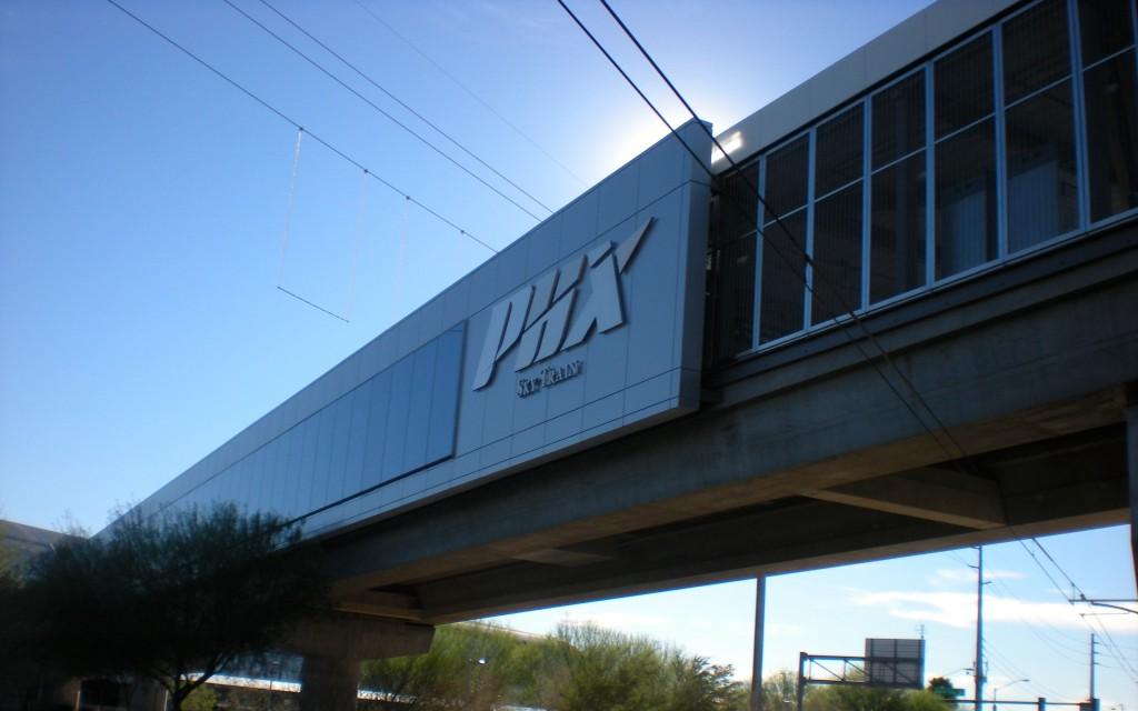 PHX Sky Train Exterior, Phoenix, Arizona