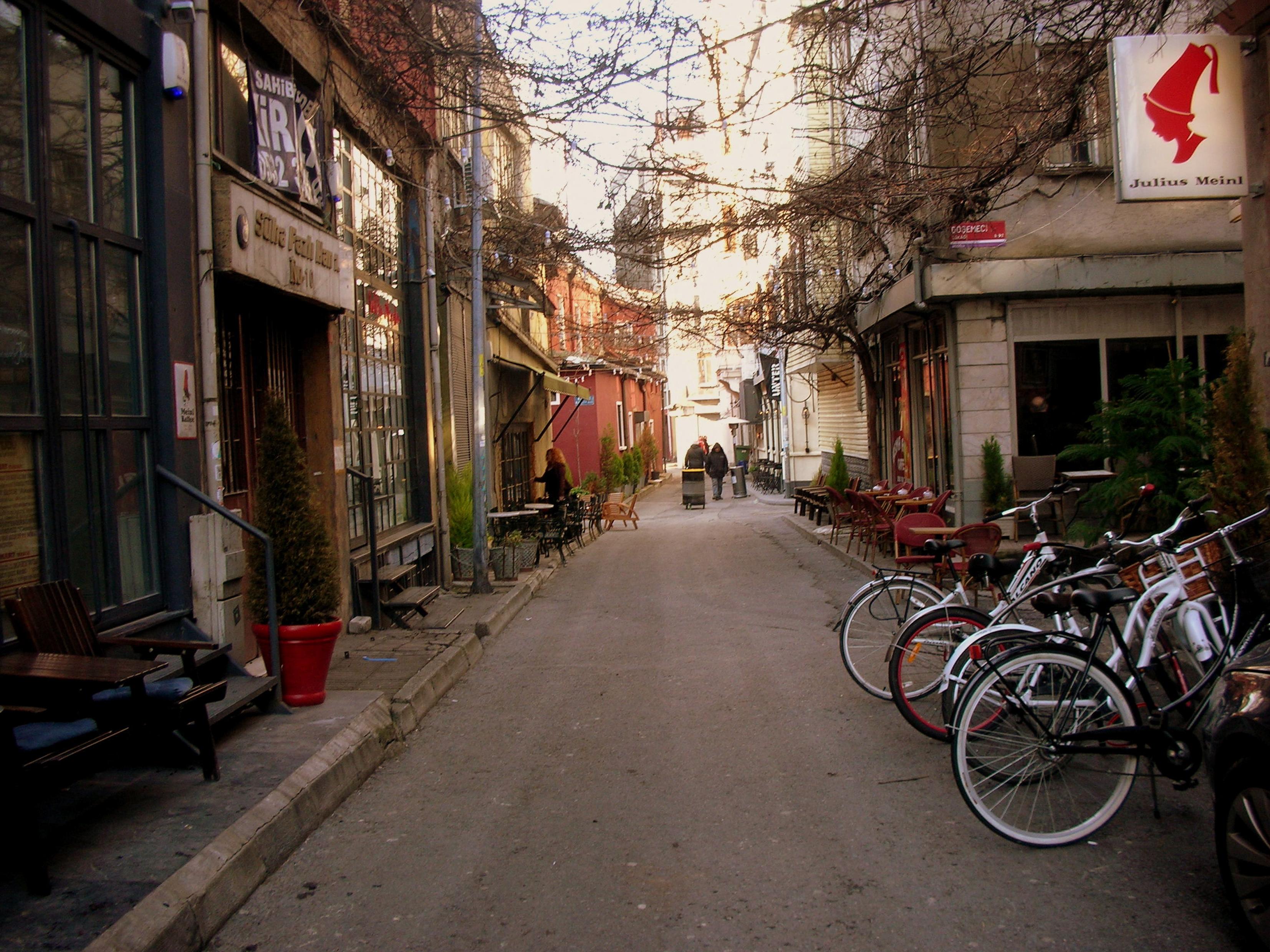 Streets of Karakoy, Istanbul, Turkey