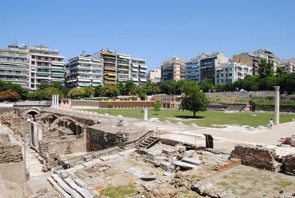 The Roman Forum, Thessaloniki, Greece