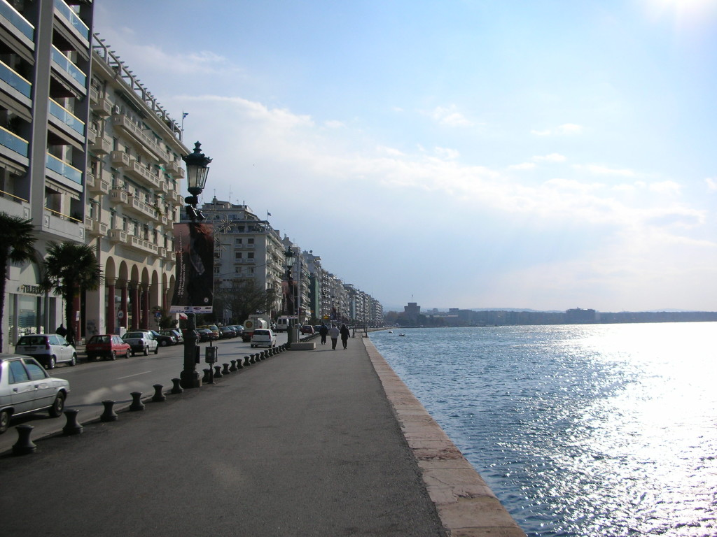 Waterfront of Thessaloniki, Greece