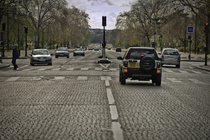 Foch Avenue in Paris, France