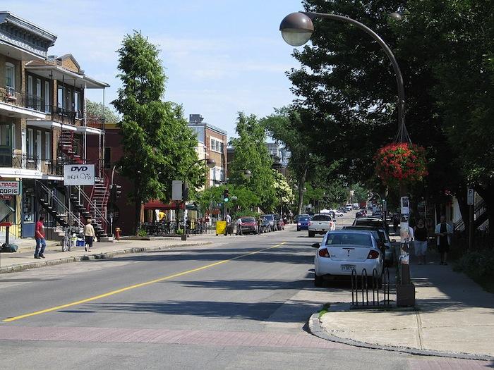 3rd Avenue in Limoilou, Canada