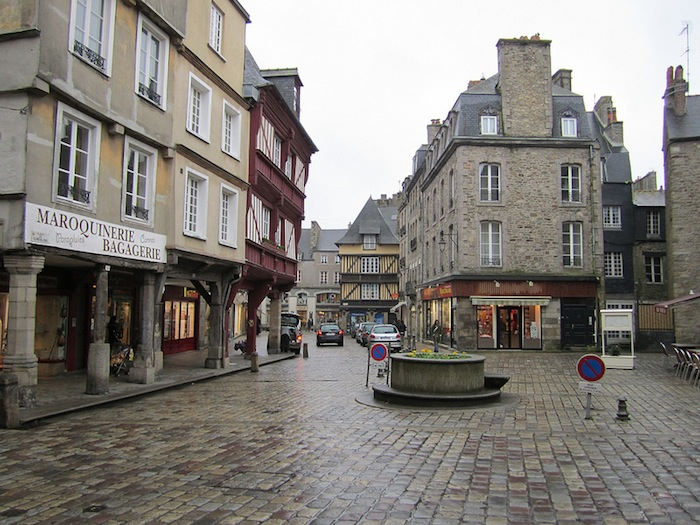 Downtown Rennes, France