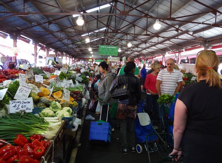 The social experience that is Queen Victoria Market