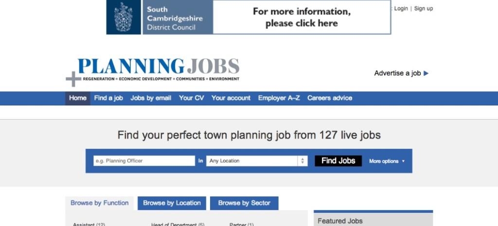 planning magazine planning jobs