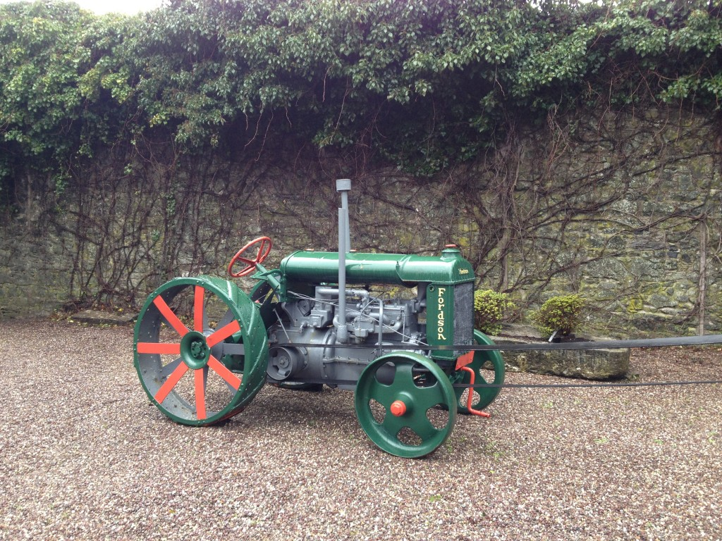 An example of old machinery used in whiskey making in Middleton, Cork