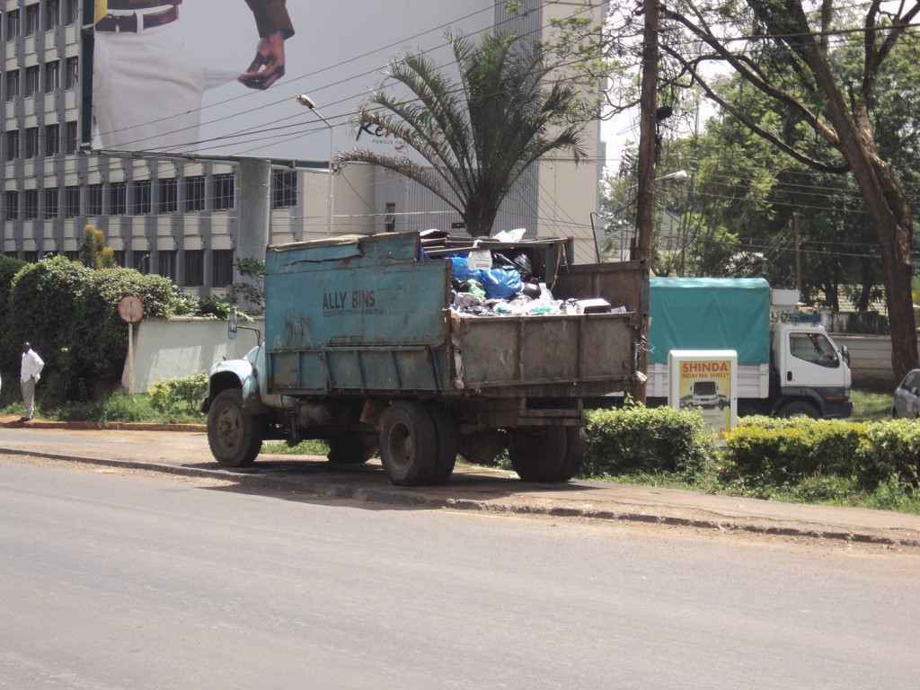 Vehicle of a Private Garbage Collector in Nairobi, Kenya