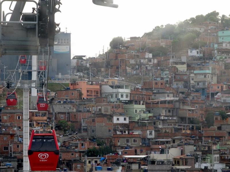 Cable Cars of Complexo do Alemão, Rio de Janeiro