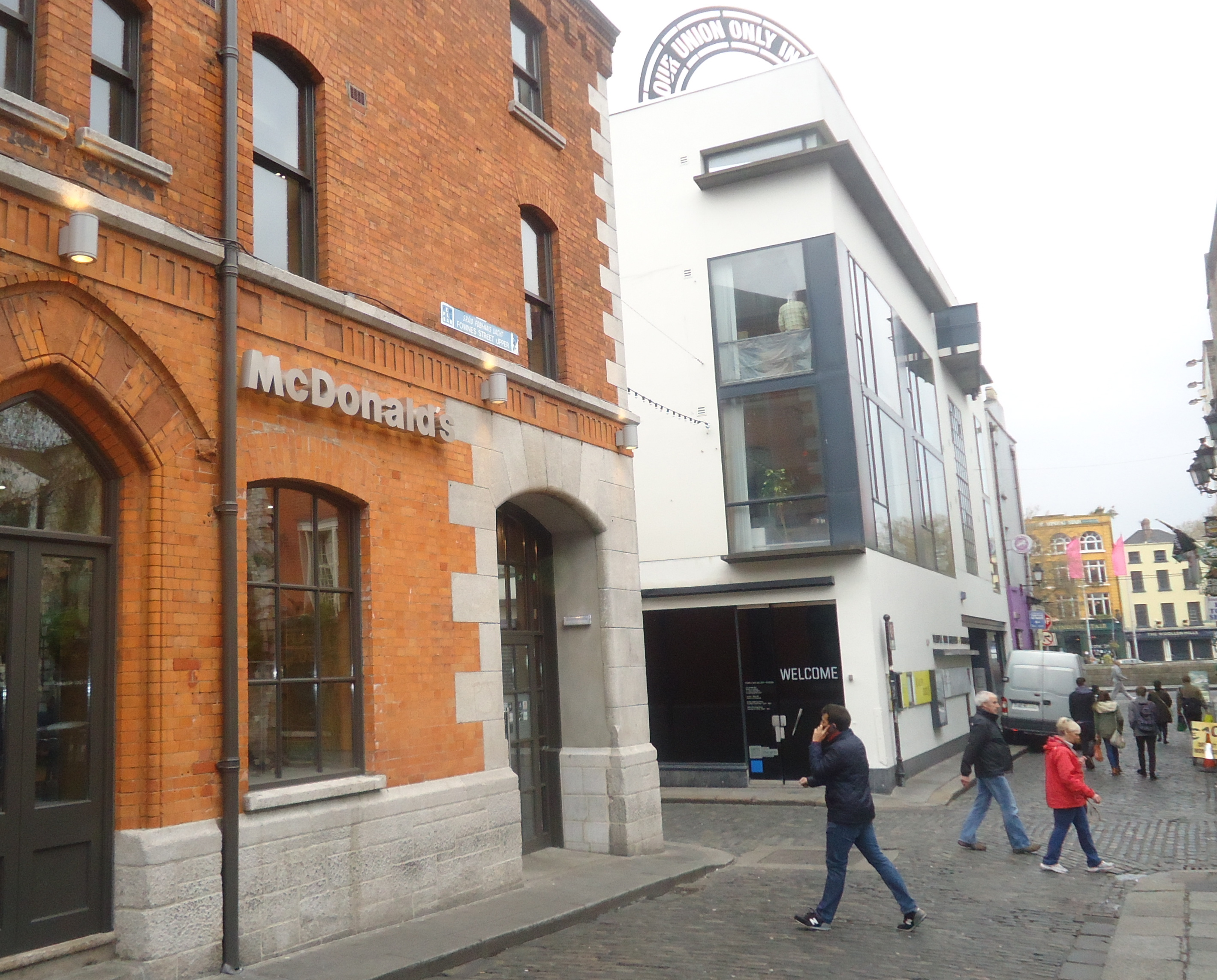 McDonald's Temple Bar in Dublin, Ireland