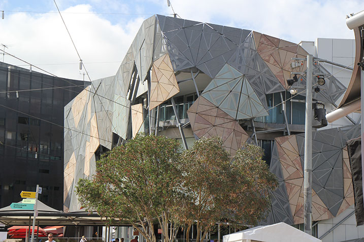 The Architecture of Melbourne Federation Square