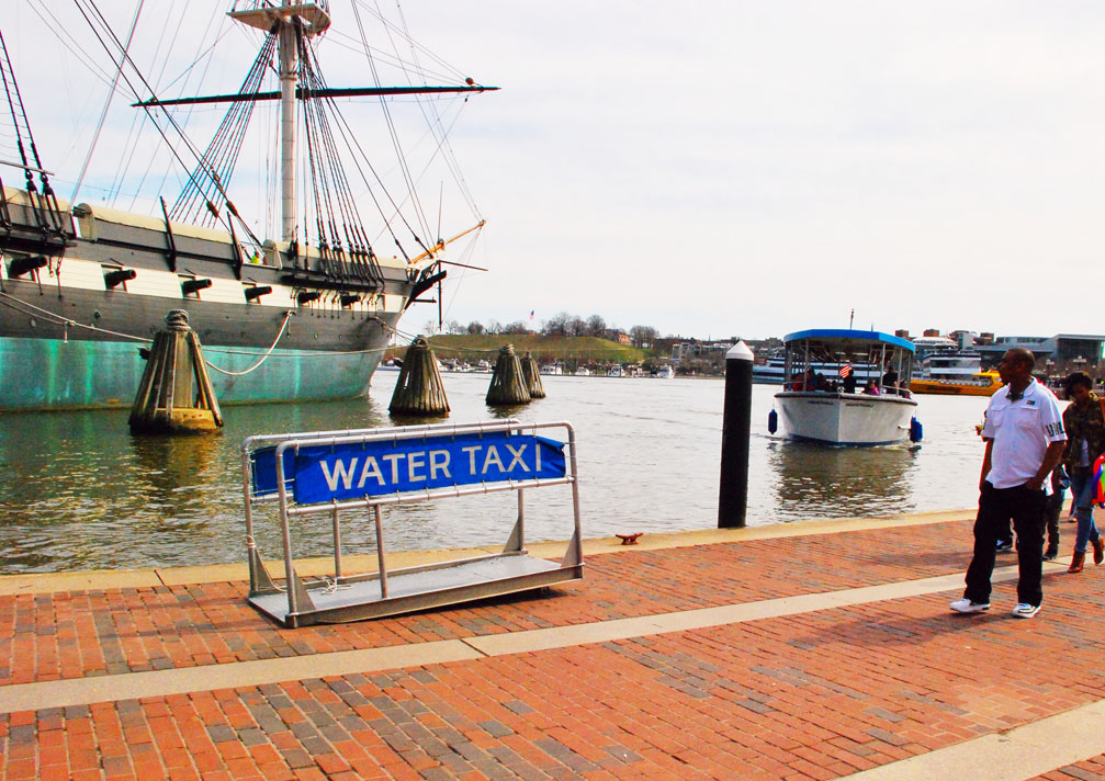 Water Taxi, Inner Harbor, City of Baltimore, MD