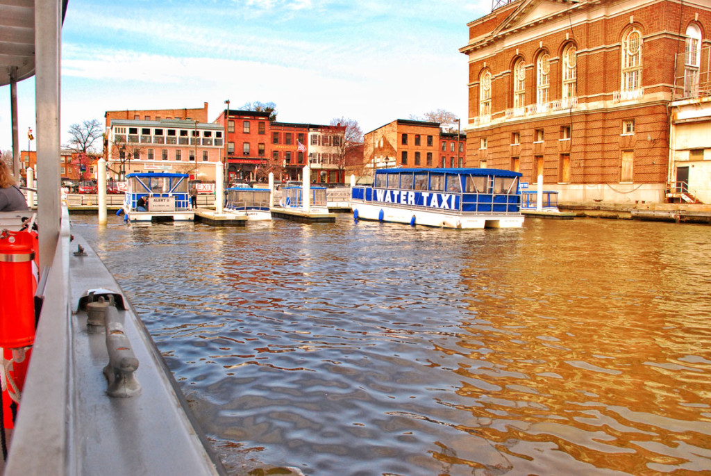 Water Taxi, Fells Point, City of Baltimore, MD