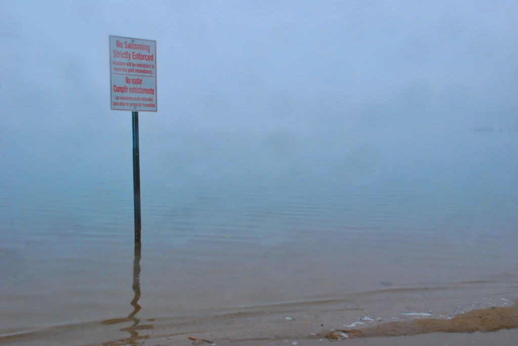 No Swimming in the Bay Watershed - Severn River, Maryland