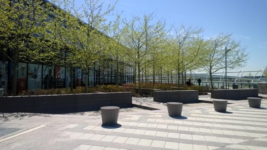 Green Infrastructure in Yards Park, SE Washington, DC