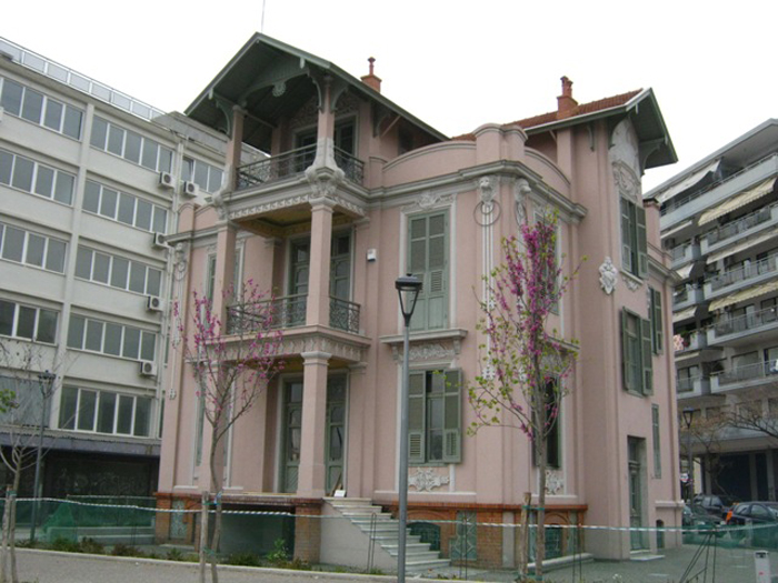 Listed building becomes Cartoon Museum in Thessaloniki