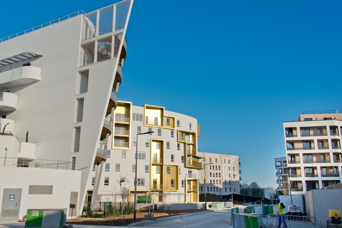 The Fort d'Issy eco-district in Issy-les-Moulineaux, France