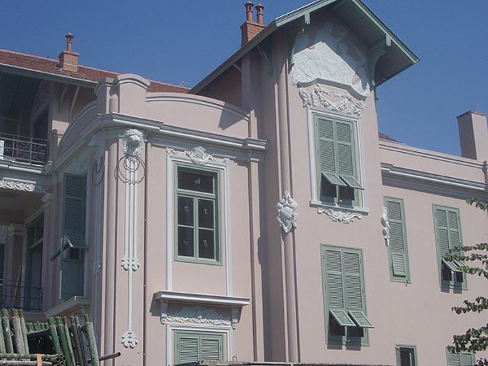 The listed bulding after restoration