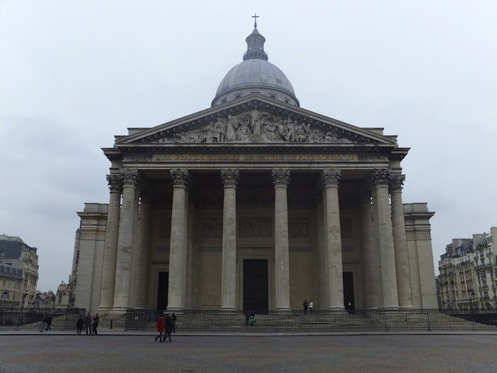 The Panthéon and its square in Paris, France