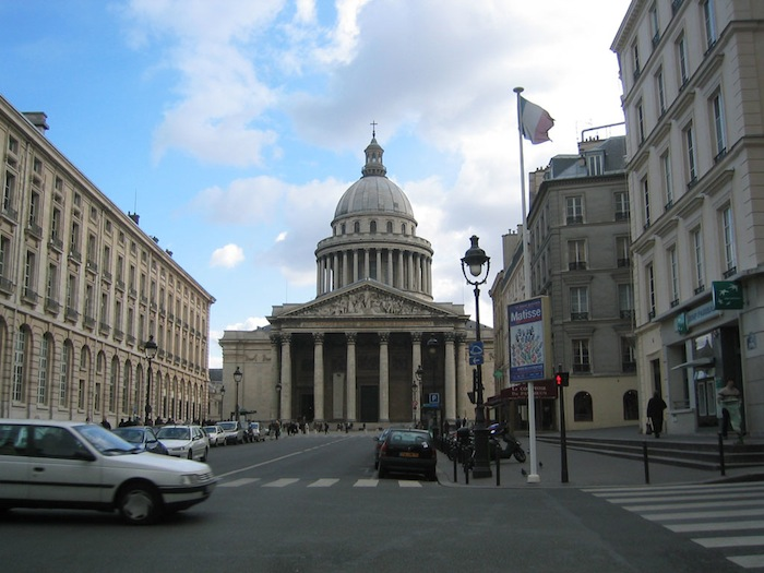 Rue Soufflot and the Panthéon in Paris, France