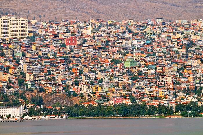 Izmir City Landscape Daytime