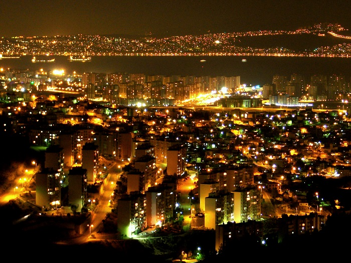 Izmir at Night