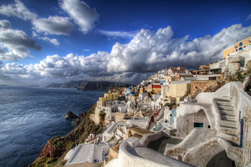 Winter in Santorini