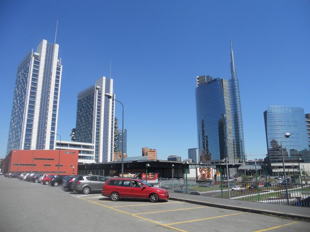 Garibaldi area, Milan, Italy