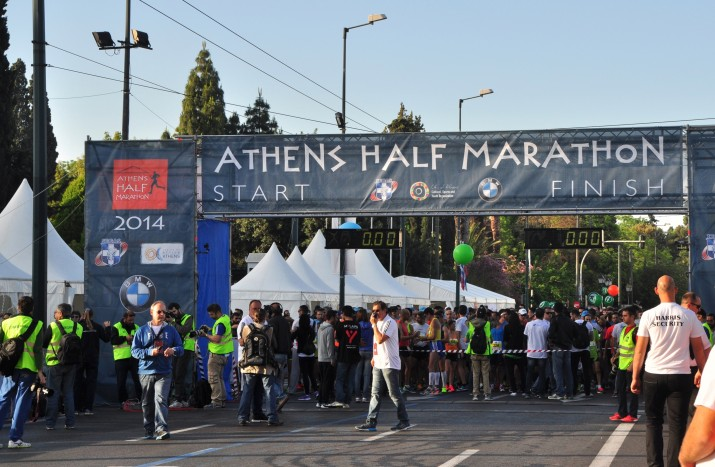 Athens Half Marathon 2014, Athens, Greece