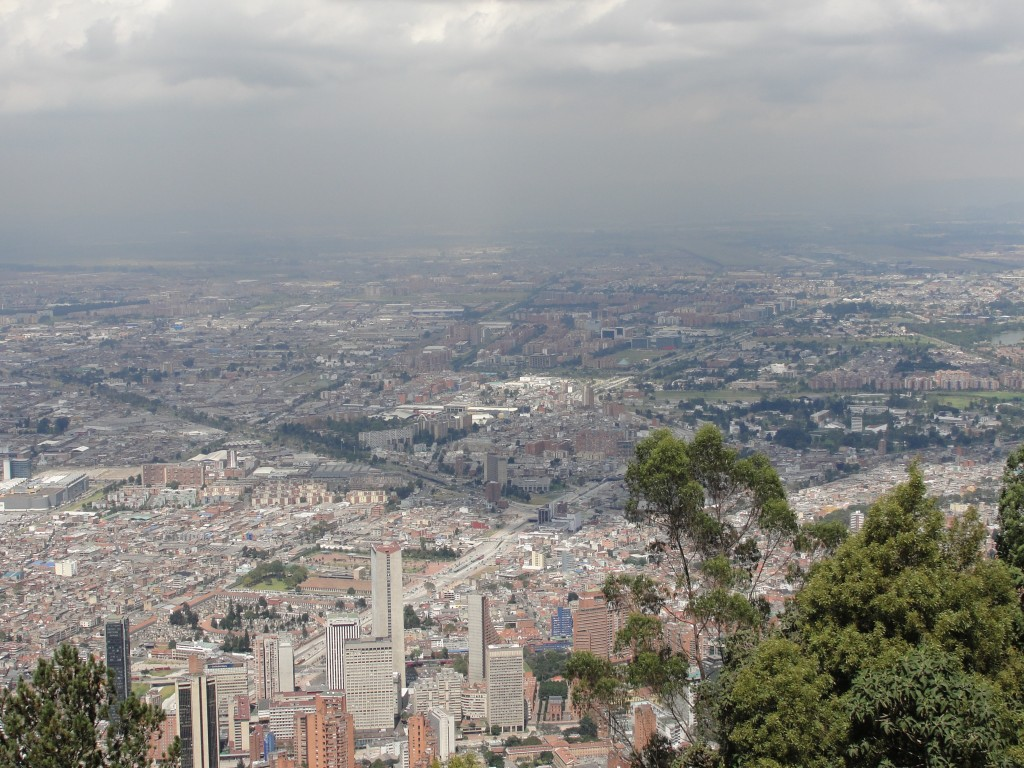 Bogotá D.C. from the Mountain, Colombia