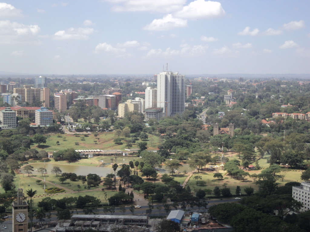 Buildings Adjascent to the CBD, Nairobi, Kenya