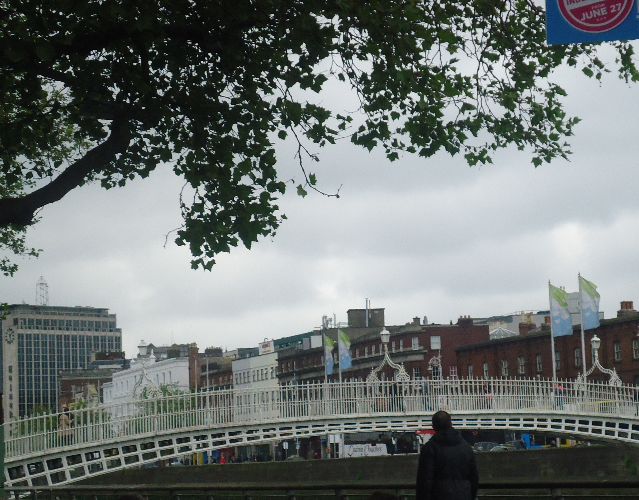Dublin's Ha'penny Bridge, Dublin, Ireland
