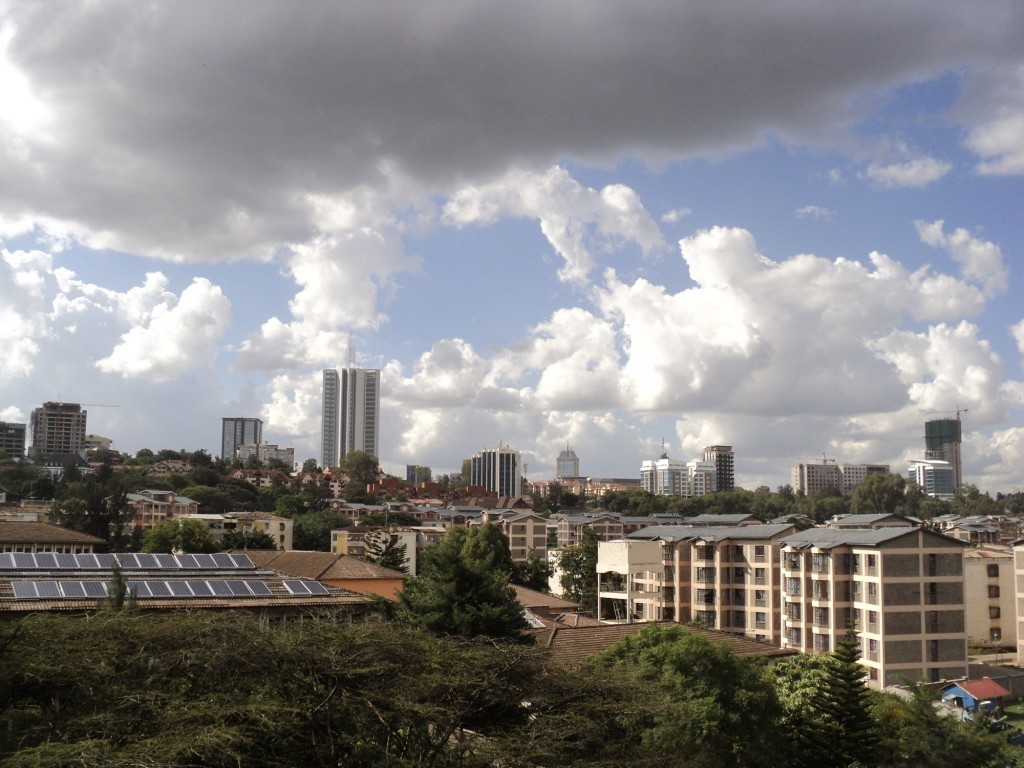 Densification in Residential Areas in Nairobi, Kenya