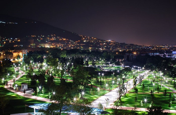 Bursa at Night, Turkey