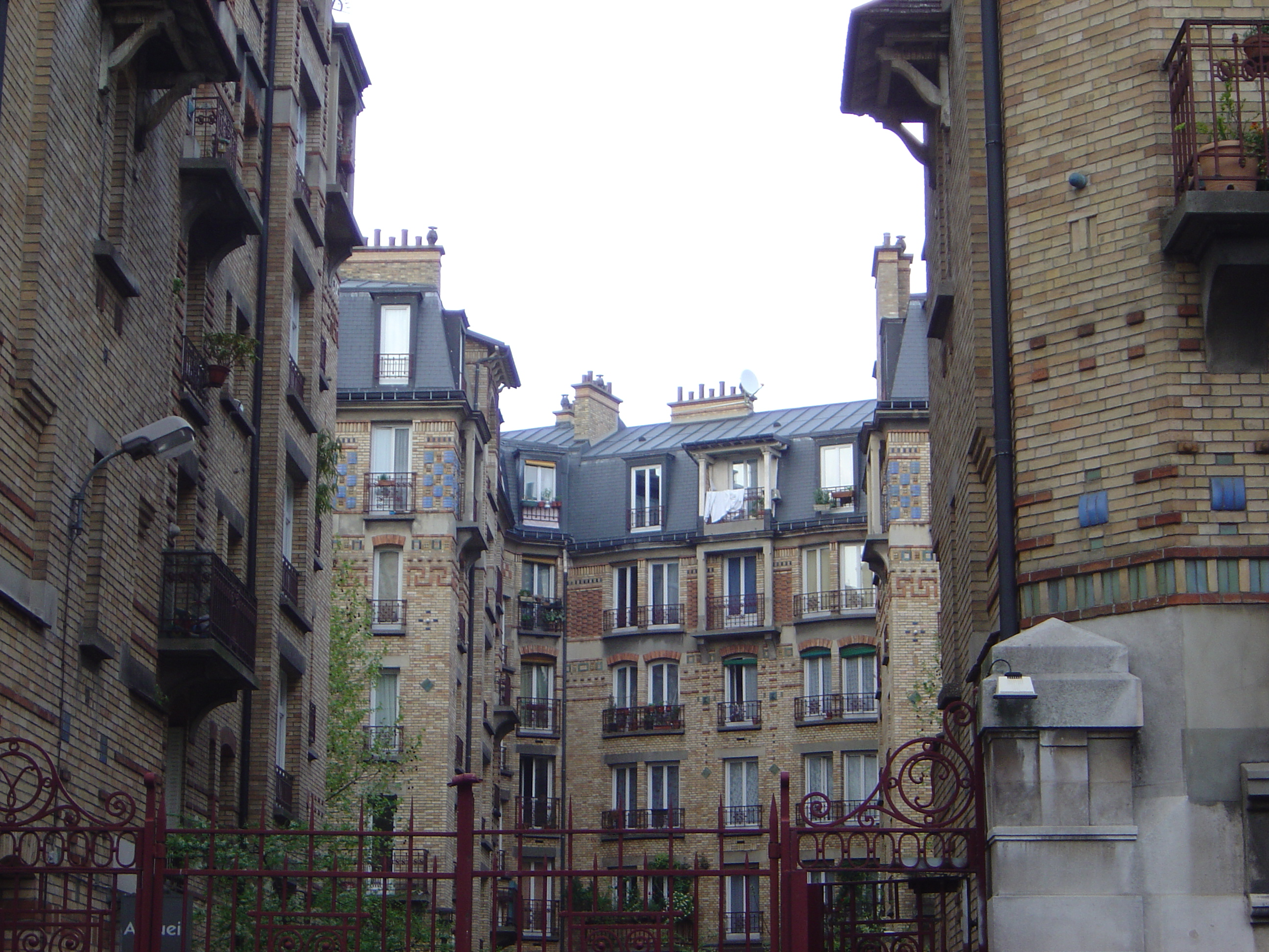 HLM housing, Paris, France
