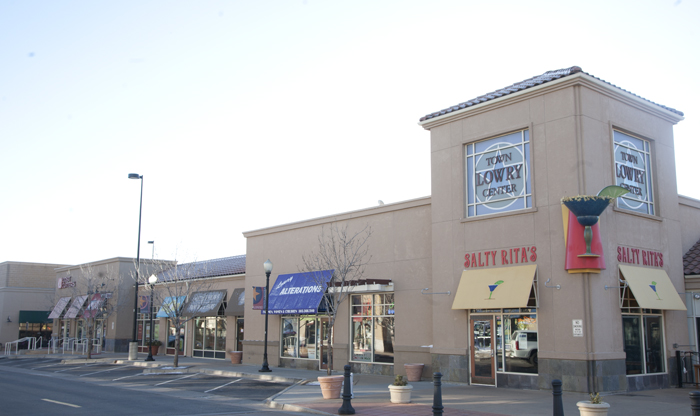 Mixed-use and retail center in Lowry, Denver, Colorado