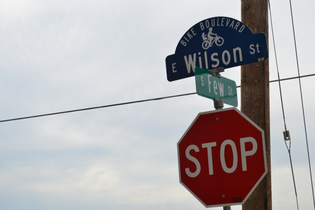 Wilson St. in the Williamson-Marquette Neighborhood, Madison, Wisconsin