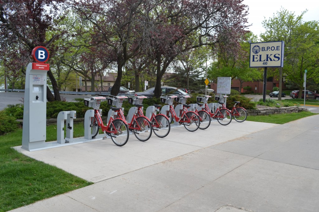 Bike rentals on Williamson St., Madison, Wisconsin