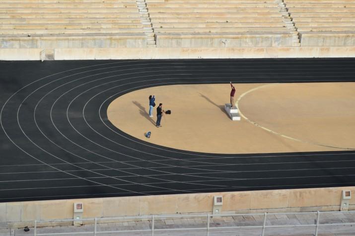 Kallimaramaro Stadium, Athens, Greece