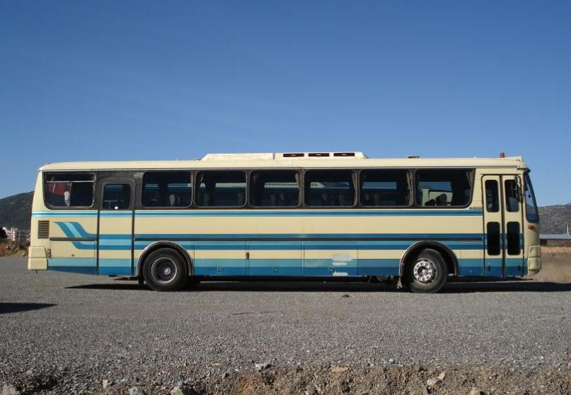 Old Greek Bus, Greece