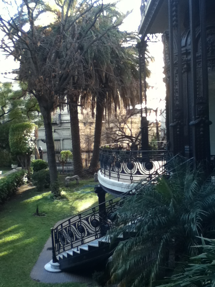 Old Palace transformed to a Hotel, Buenos Aires, Argentina