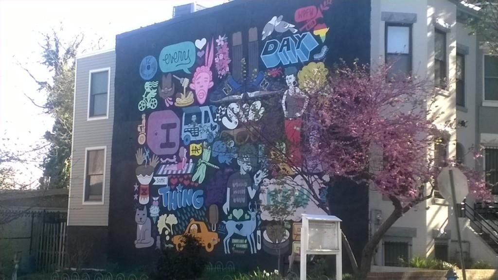 Mural on Champlain St NW, Washington DC