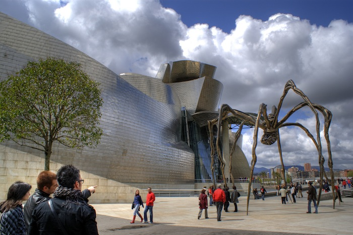 The Guggenheim Museum of Bilbao, Spain