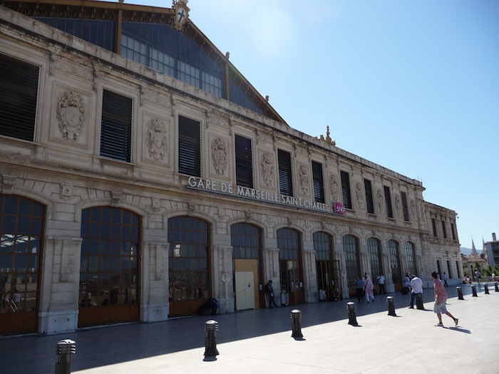 The Gare Saint-Charles in Marseille, France