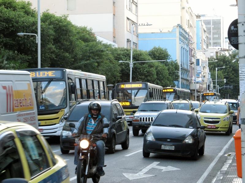 Rush Hour in Rio de Janeiro, Brazil