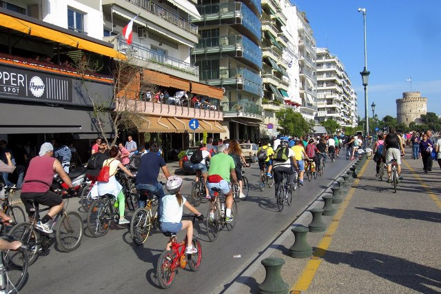 7th Bike Race in Thessaloniki