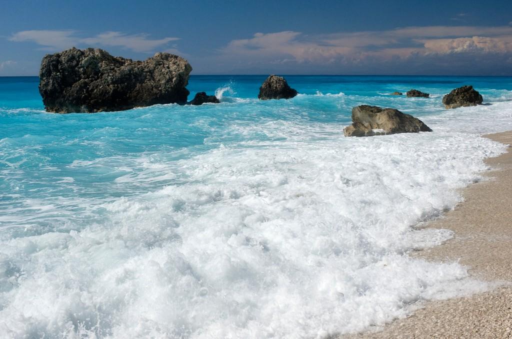 Kalamitsi beach, Lefkada island, Greece