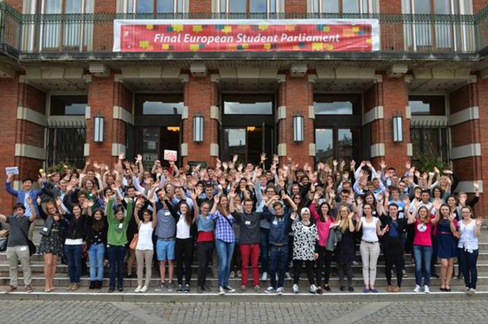 Final canditates Copenhagen, Denmark, European Student Parliament on Science