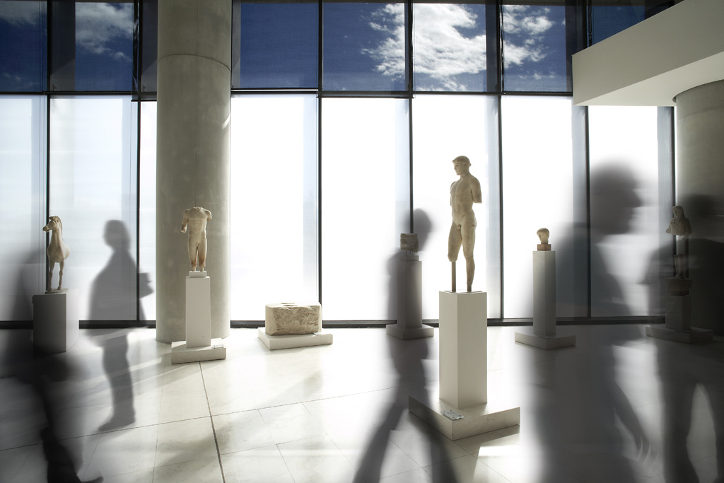 Interior, New Acropolis Museum, Athens, Greece