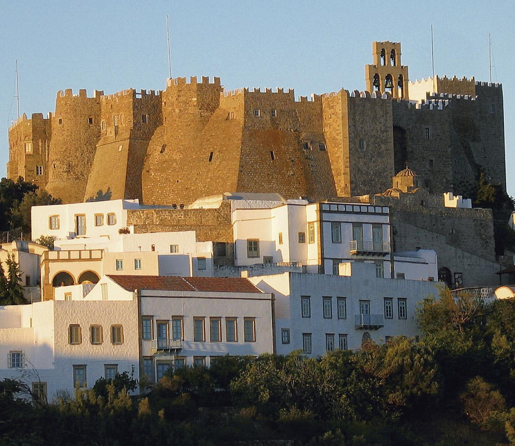 Architecture of Patmos Island, Greece